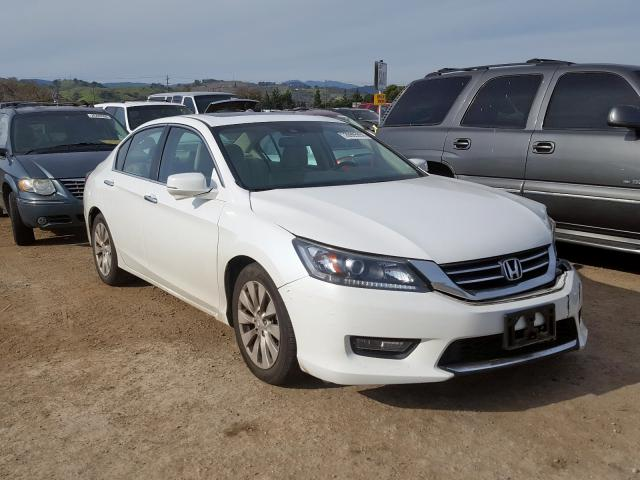 Honda Accord EXL salvage cars for sale: 2015 Honda Accord EXL