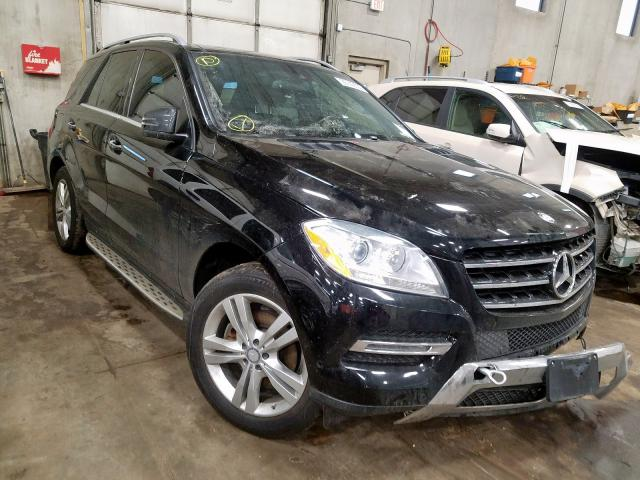 Mercedes-Benz Vehiculos salvage en venta: 2014 Mercedes-Benz ML 350 4matic