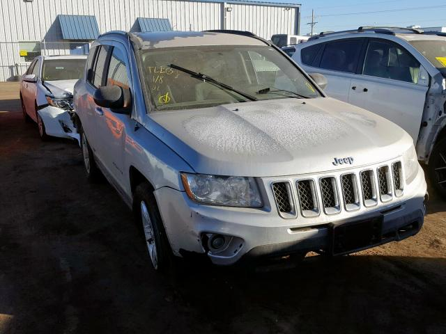 Jeep Compass SP salvage cars for sale: 2012 Jeep Compass SP