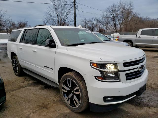 Salvage 2018 CHEVROLET SUBURBAN - Small image. Lot 27190260