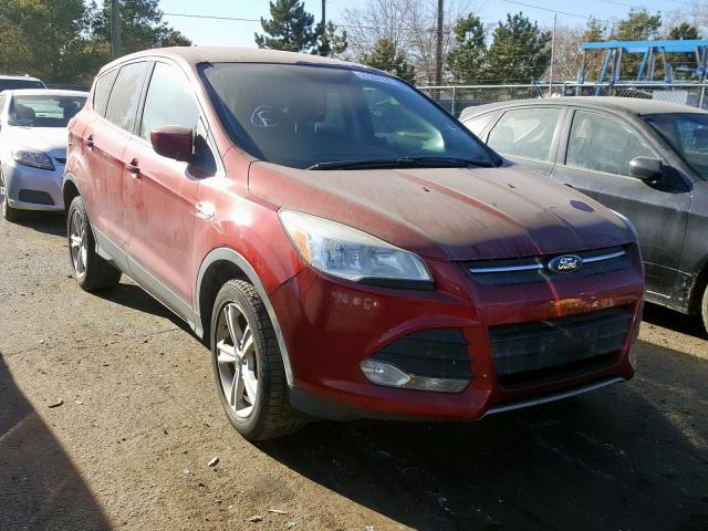 Ford Escape SE salvage cars for sale: 2013 Ford Escape SE