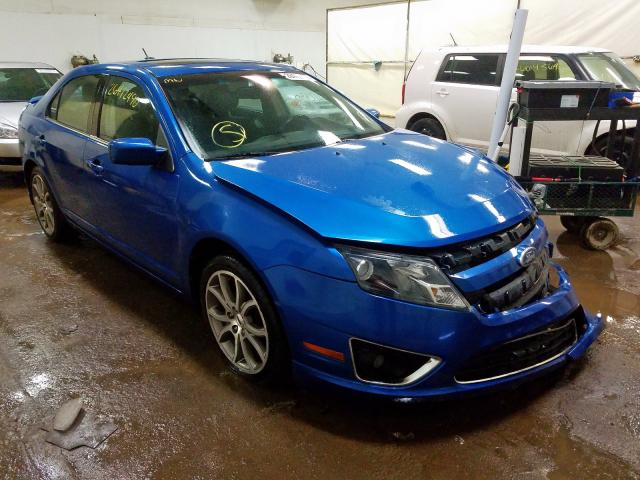 Salvage 2011 FORD FUSION - Small image. Lot 26412490