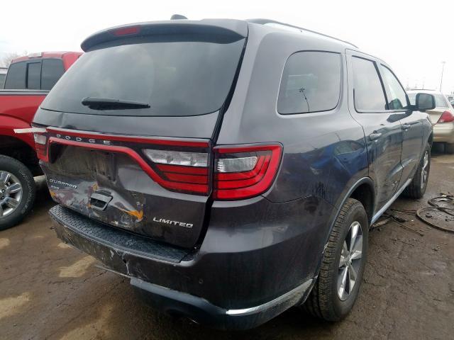 2016 Dodge DURANGO   Vin: 1C4RDJDG7GC442114
