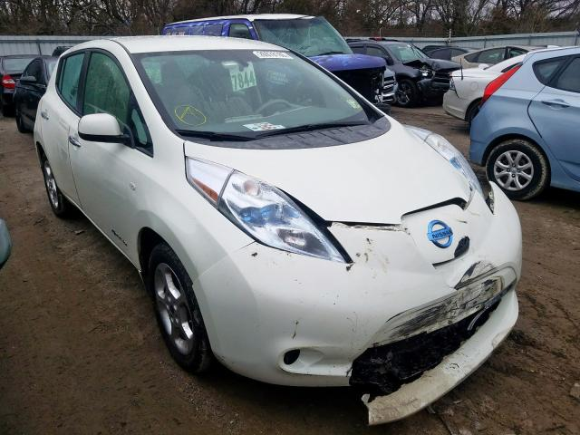 Salvage 2012 Nissan LEAF SV for sale