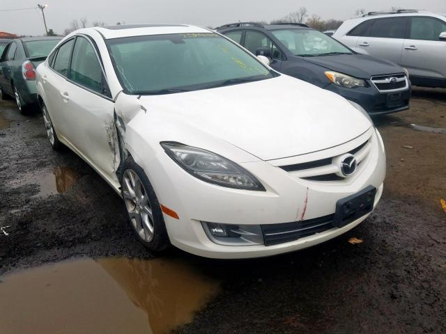 Mazda salvage cars for sale: 2009 Mazda 6 S