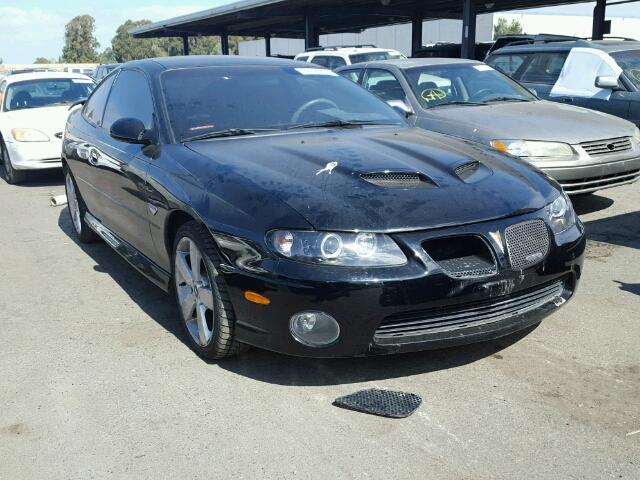 2005 PONTIAC GTO 6.0L