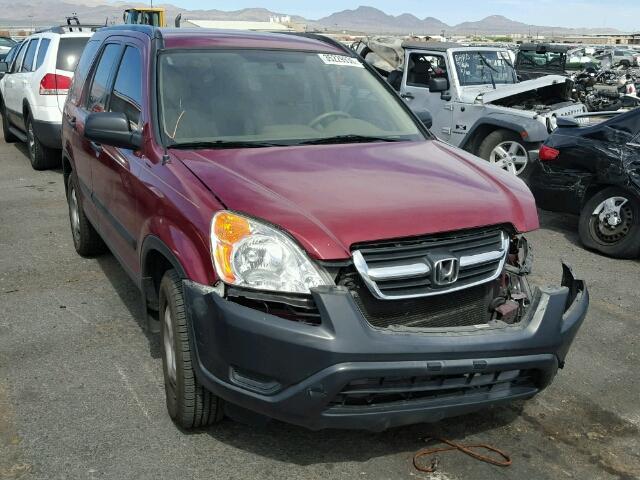 JHLRD68584C012001 - 2004 HONDA CRV