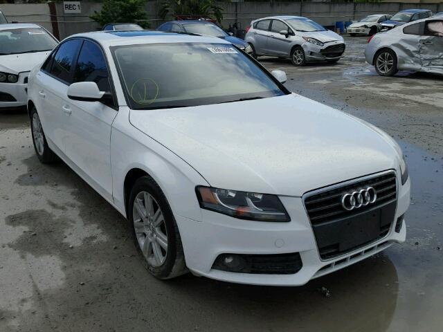 2011 AUDI A4 2.0L
