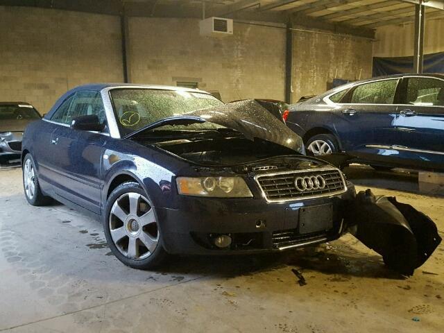 2003 AUDI A4 3.0 CAB 3.0L
