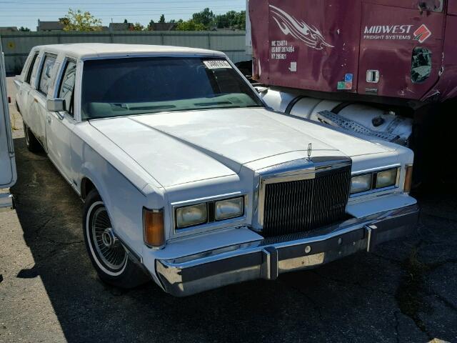1LNBM81F5KY798204 - 1989 LINCOLN TOWN CAR