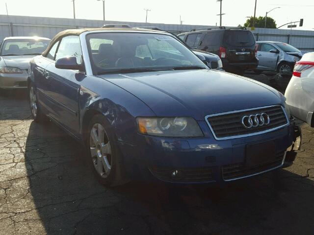 2004 AUDI A4 1.8 CAB 1.8L