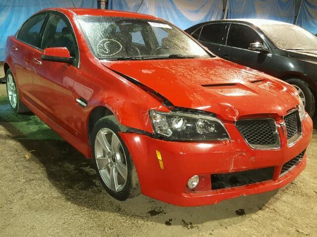 2009 PONTIAC G8 GT 6.0L