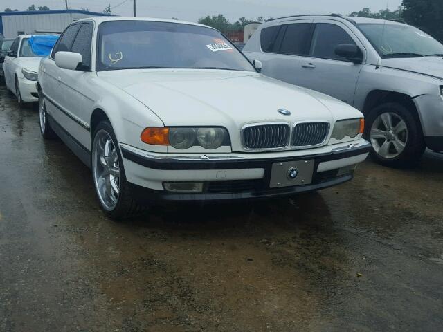 WBAGH8347YDP11507 - 2000 BMW 740IL