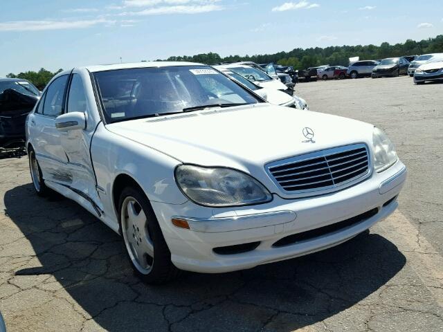 2001 MERCEDES-BENZ S430 4.3L