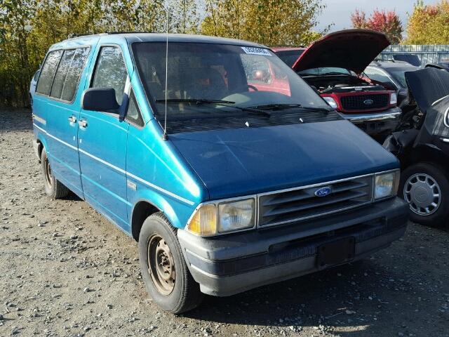 1FMDA21X9PZA81152 - 1993 FORD AEROSTAR