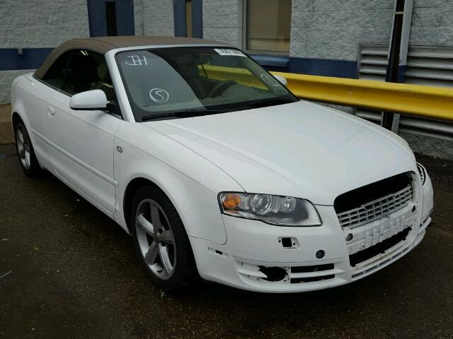 2007 AUDI A4 3.1L