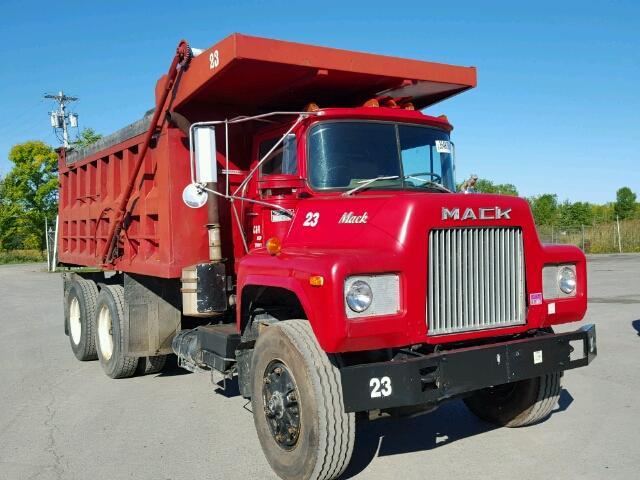Mack Trucks Automatic : Auto auction ended on vin dm s mack dump truck