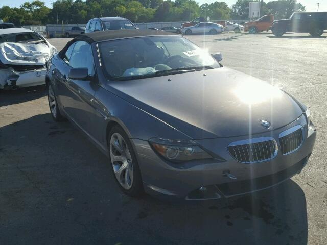 WBAEK73405B325912 - 2005 BMW 6 SERIES