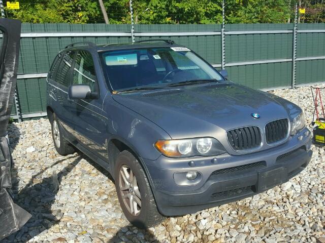 5UXFA13556LY46571 - 2006 BMW X5 3.0I