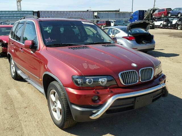 2002 BMW X5 4.4I 4.4L