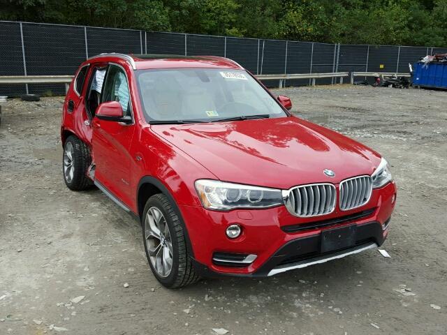 2015 BMW X3 3.0L