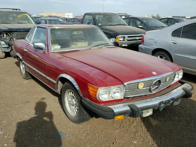 10704412036432 - 1977 MERCEDES-BENZ SL450
