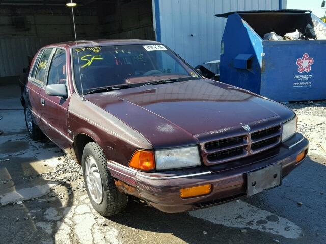 1B3XA4639PF508190 - 1993 DODGE SPIRIT