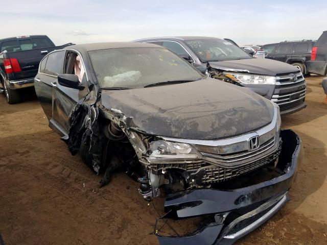 Honda Accord Sport salvage cars for sale: 2017 Honda Accord Sport