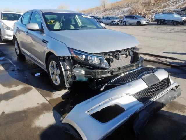 Vehiculos salvage en venta de Copart Littleton, CO: 2014 KIA Optima LX