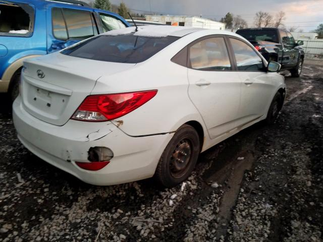 2012 Hyundai Accent Gls 1.6L rear view