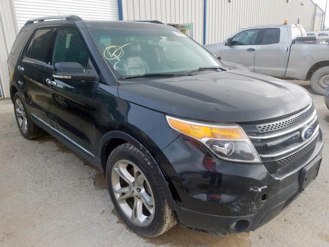 Salvage cars for sale from Copart Houston, TX: 2013 Ford Explorer L