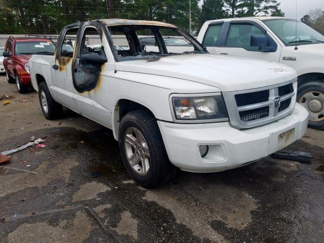 Dodge salvage cars for sale: 2011 Dodge Dakota SLT