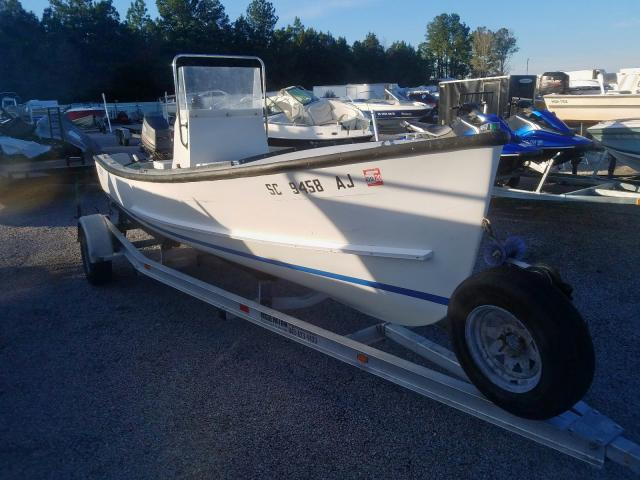 Salvage cars for sale from Copart Harleyville, SC: 1994 East Manufacturing Boat