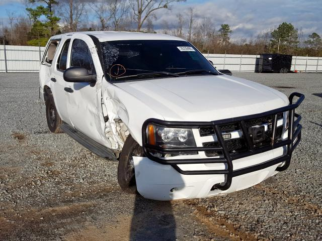 Chevrolet Tahoe Police salvage cars for sale: 2012 Chevrolet Tahoe Police