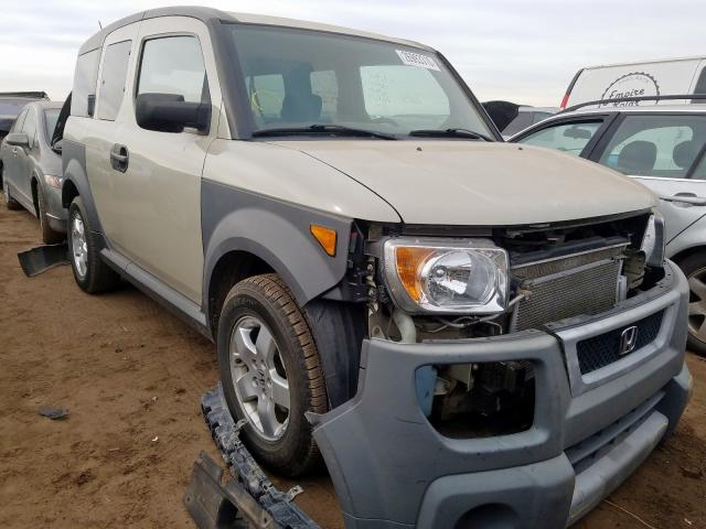 Honda Element EX salvage cars for sale: 2005 Honda Element EX