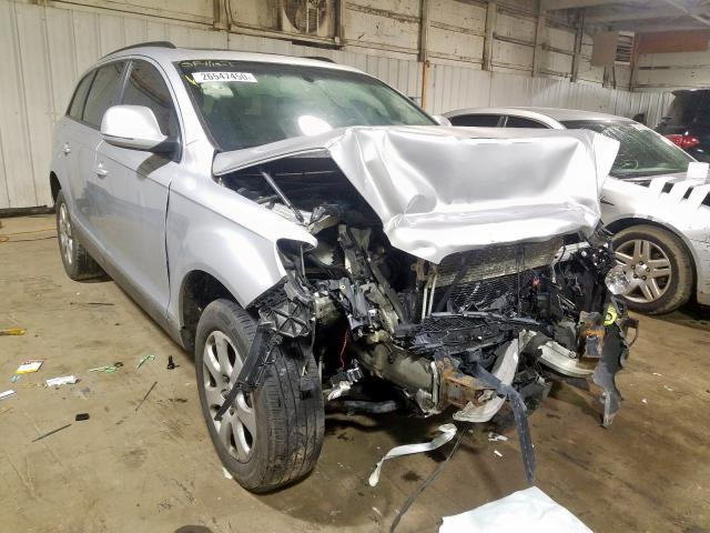 Salvage 2007 Audi Q7 3.6 QUATTRO for sale
