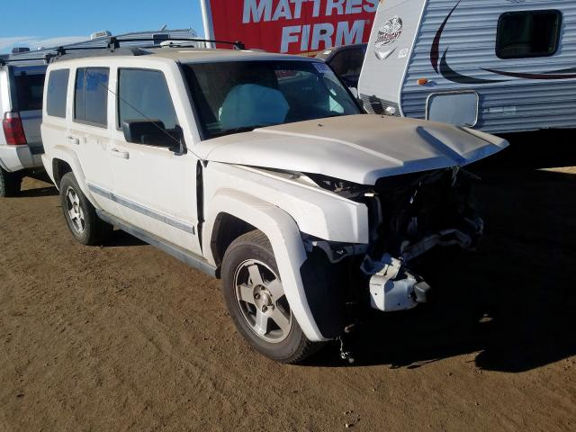 Jeep Commander salvage cars for sale: 2010 Jeep Commander