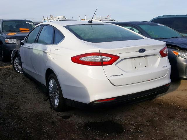 2014 FORD FUSION S HYBRID