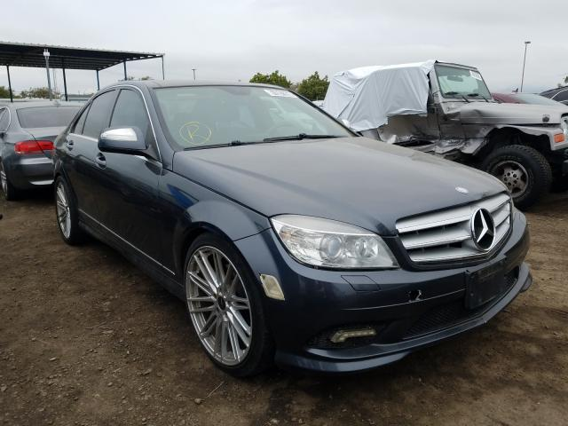 Mercedes-Benz C 350 salvage cars for sale: 2009 Mercedes-Benz C 350