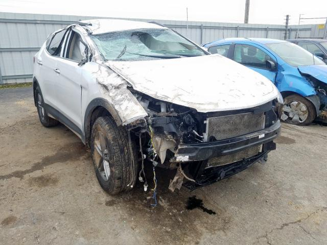 Hyundai Santa FE S salvage cars for sale: 2018 Hyundai Santa FE S