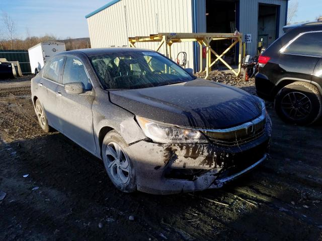 Honda Accord LX salvage cars for sale: 2017 Honda Accord LX