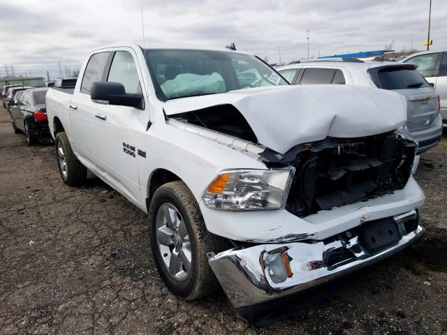 Salvage cars for sale from Copart Woodhaven, MI: 2017 Dodge RAM 1500 SLT