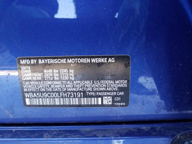 2020 BMW M3 | Vin: WBA5U9C00LFH73191