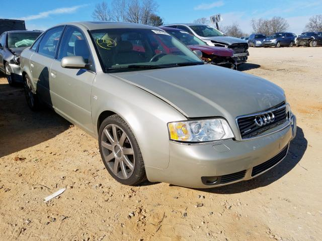 Audi A6 S-Line salvage cars for sale: 2004 Audi A6 S-Line