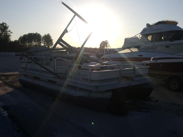 Boat salvage cars for sale: 1999 Boat Godfrey 18