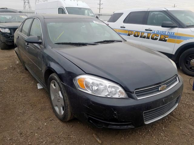 Salvage 2008 Chevrolet IMPALA 50T for sale