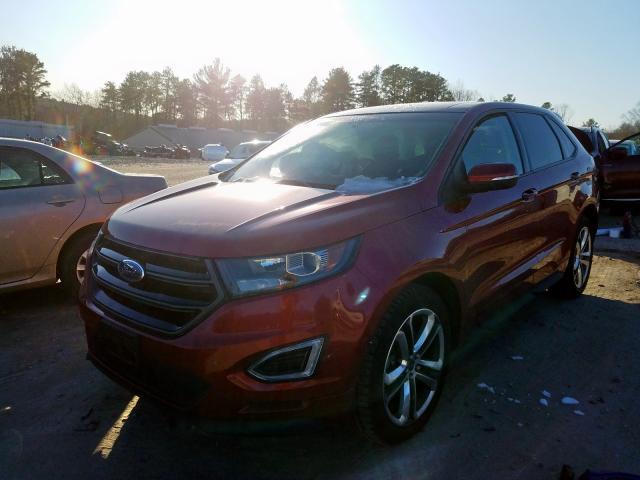 2015 Ford EDGE | Vin: 2FMTK4AP5FBB40624