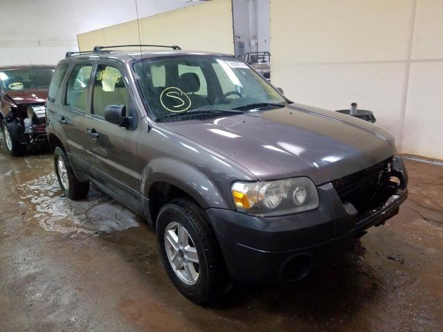 Ford Escape XLS salvage cars for sale: 2005 Ford Escape XLS