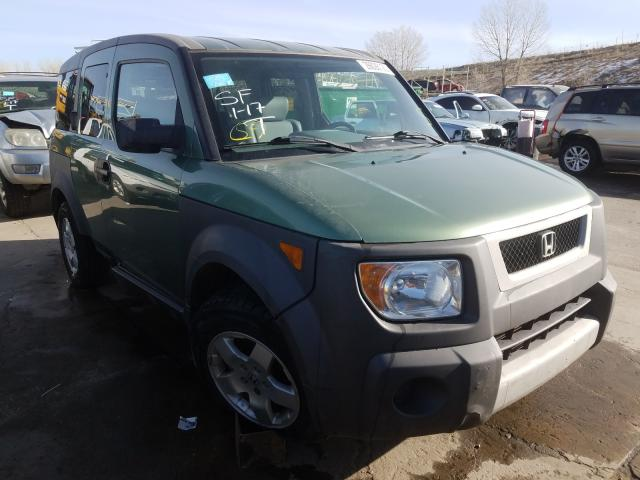 Honda Element EX salvage cars for sale: 2004 Honda Element EX