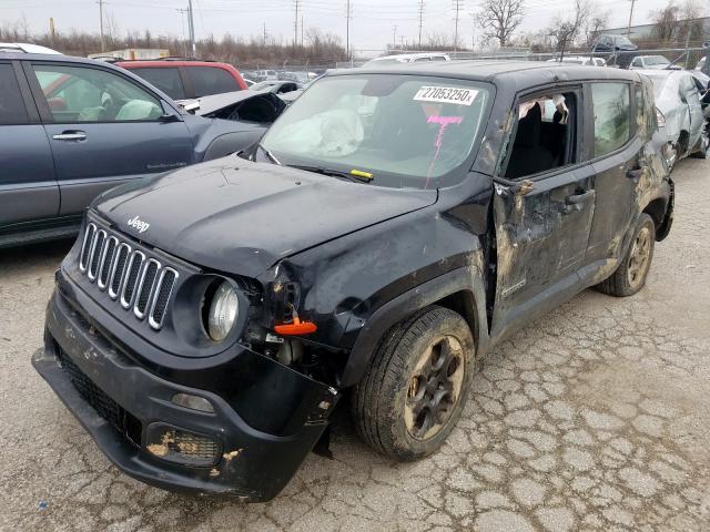 2015 Jeep    Vin: ZACCJAAT4FPB43156
